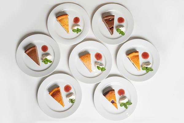 チーズケーキの全体写真